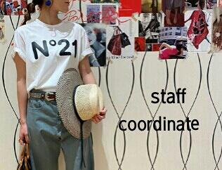 N °21  numero ventuno (ヌメロ ヴェントゥーノ)  Staff coordinate
